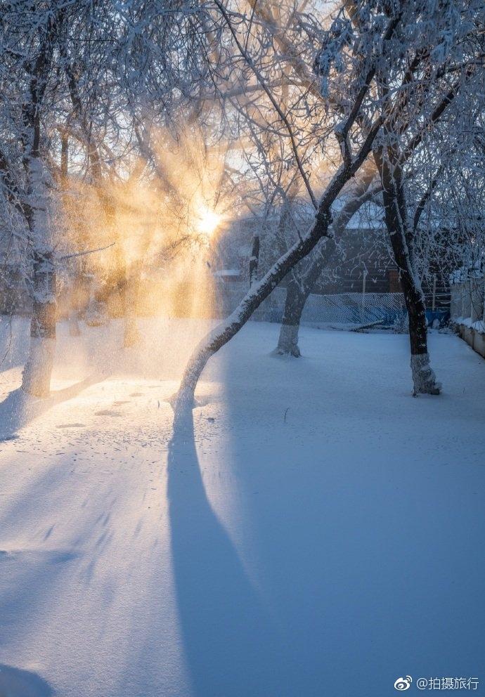 贝加尔湖和莫斯科河的冬季映画。零下三十度的!