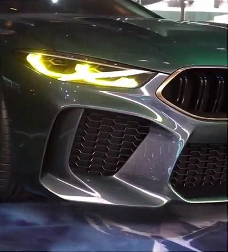 """""""金属绿""""4座版宝马M8将上市,马力超600匹,预售150万"""