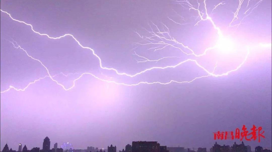 全国十大雷电最多城市 南昌排第五!接下来几天…