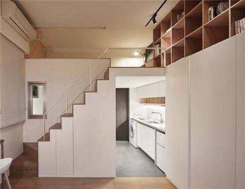30平公寓装修效果图 30平蜗居让你匪夷所思的完美收纳