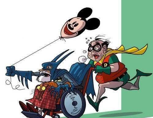 当超级英雄们老了以后,绿巨人一身赘肉,闪电侠抢坑位一流!