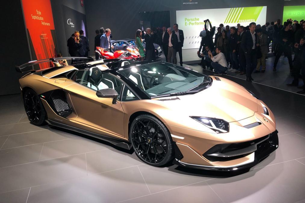 兰博基尼Aventador SVJ高清实拍 百公里加速2.8秒