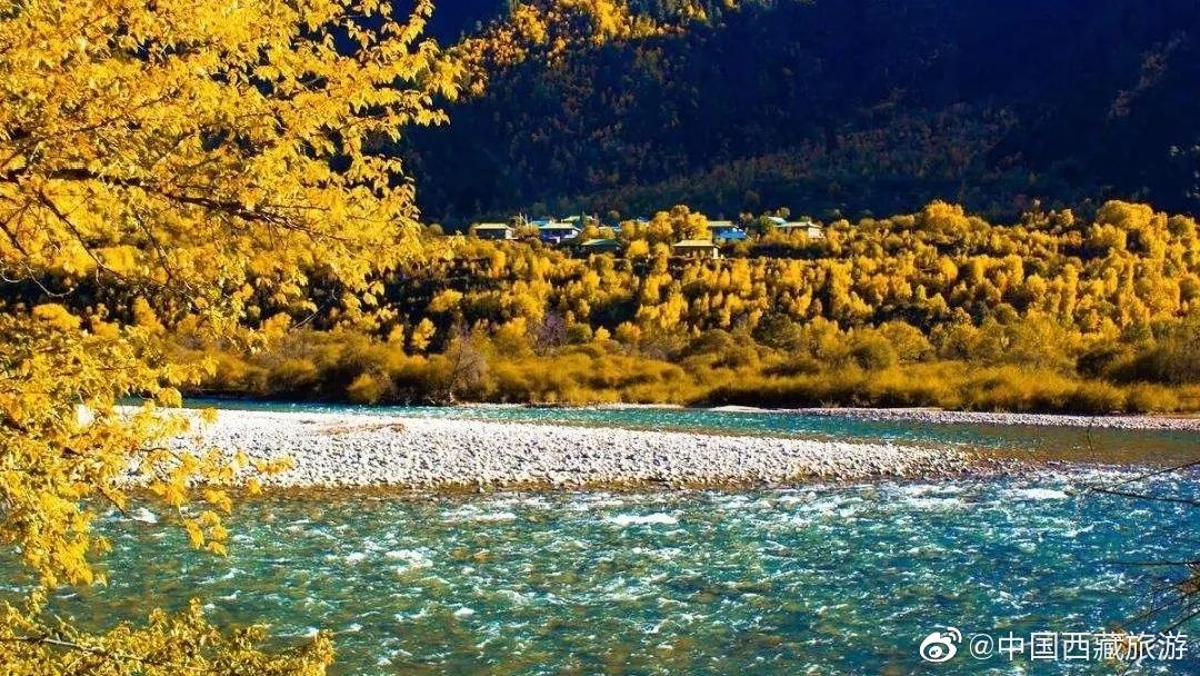 私藏林芝山景秋色