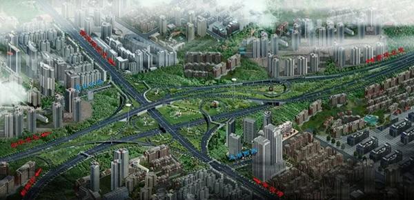 通行人和片区将更快捷!主城一大型立交春节前通车