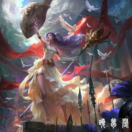 不仅如此,雅典娜还主持战争,手工艺,艺术,智慧以及公正的女神,同时