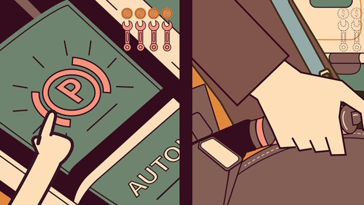 电子手刹的隐藏功能:危险时刻能保命!