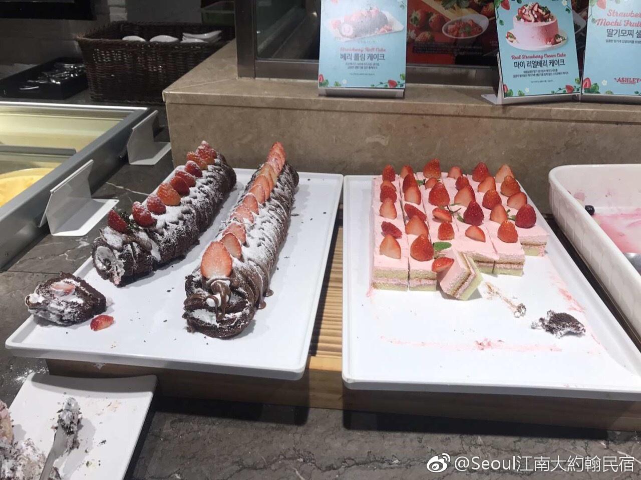韩国的草莓季到了