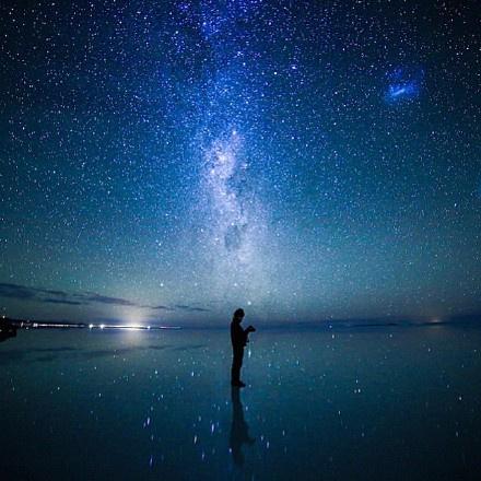 传说中的玻利维亚天空之镜