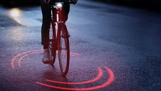 自行车安全线,灵感来自西游记,每年可减少5千起车祸