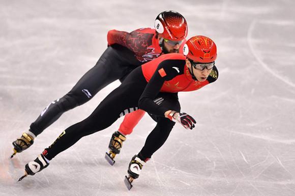 冬奥首金!武大靖短道速滑男子500米问鼎冠军
