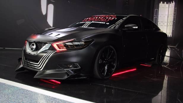 日产6款星战主题概念车亮相洛杉矶车展
