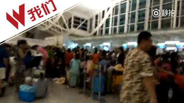 中国6架包机出发接滞留印尼游客 游客:终于要回国