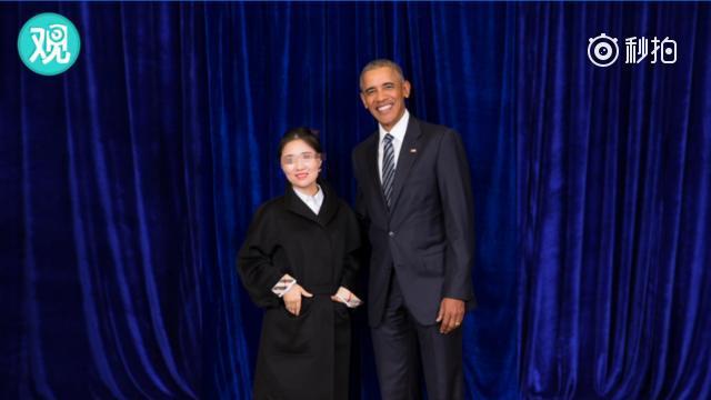 刷屏的微商和奥巴马握手合影 还真不是蜡像