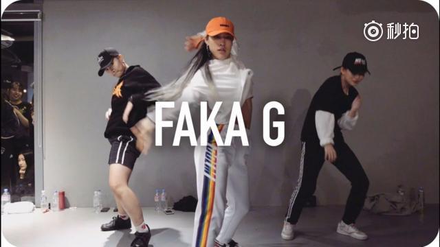 热舞BGM 超团1M舞室最新作品!BGM:Wiwek《Faka G》编舞...