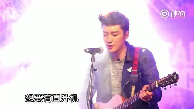 kimi乔任梁翻唱周杰伦《可爱女人》,摇滚版也很好听耶!(使用 秒拍 录.