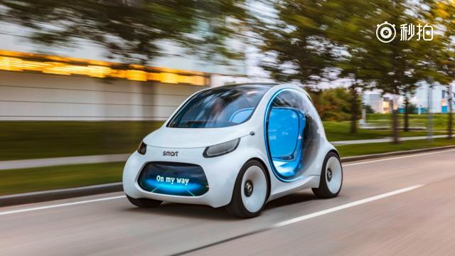 Smart展示Vision EQ Fortwo 自动驾驶电动概念车!长春...