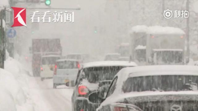 日本中部降大雪 英国爆发
