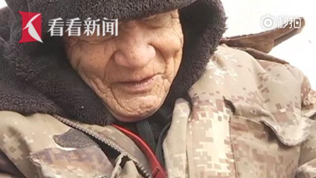 76岁盲人义务站点播报50年