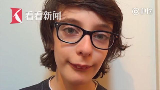 美国自闭症儿童录制短片爆红网络