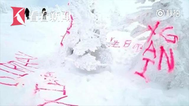 """日本""""树冰""""遭涂鸦 缅甸""""真凶""""被捕"""