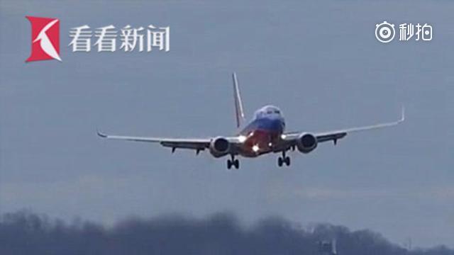 """【""""炸弹气旋""""让飞机乘客全吐了 美联航机长不敌狂风摇摆果断弃降】美国东海..."""