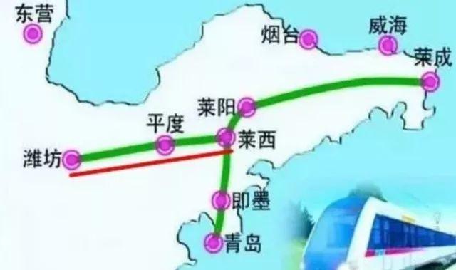 到咱山东这么多高铁线路 快看看哪些到青岛