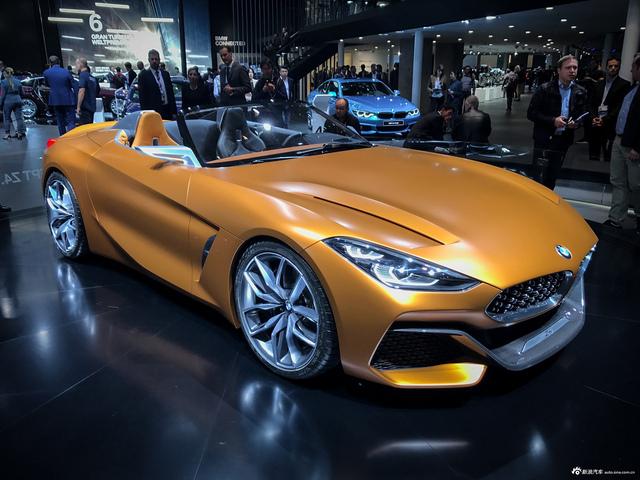 图集 宝马史上最激进的设计 全新BMW Z4