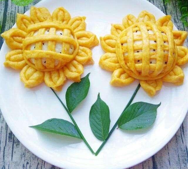 好看美食的花式面点,一举夺得幼儿园美味制作总结比赛美食幼儿园图片