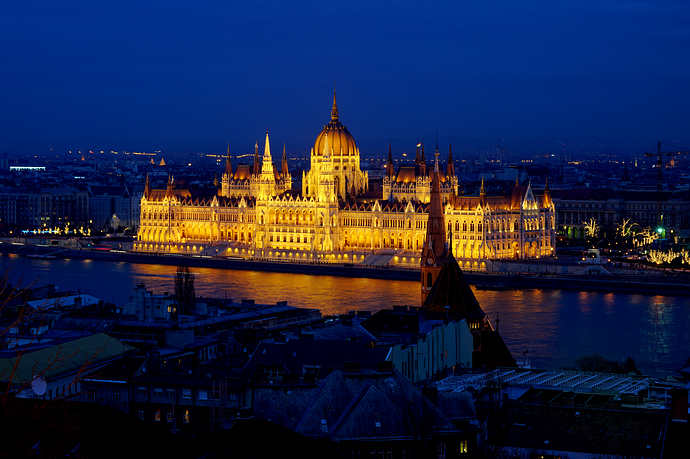布达佩斯,跨年迎接2018第一缕阳光