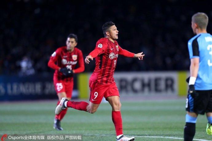 上港出征日本1比0小胜,感谢川崎前锋