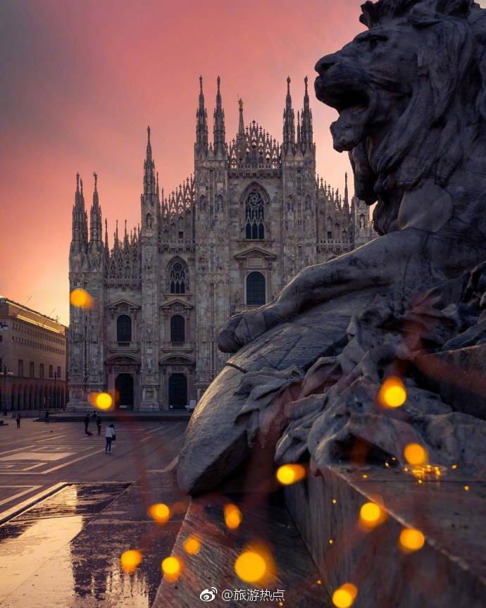 黄昏下的意大利,做梦也想去看看!
