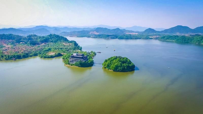临安青山湖,一抹诗情画意的绿
