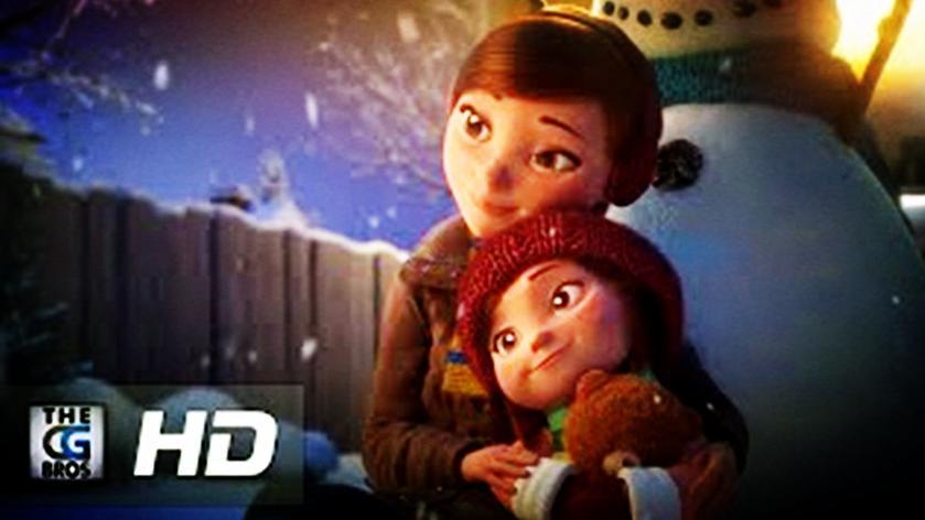 泪目!圣诞温馨广告《莉莉和雪人》