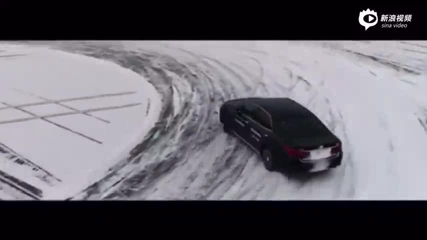 一汽丰田冰雪试驾