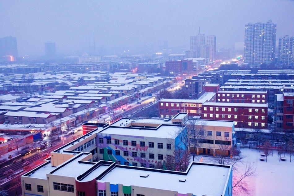 邯郸雪景美哭啦
