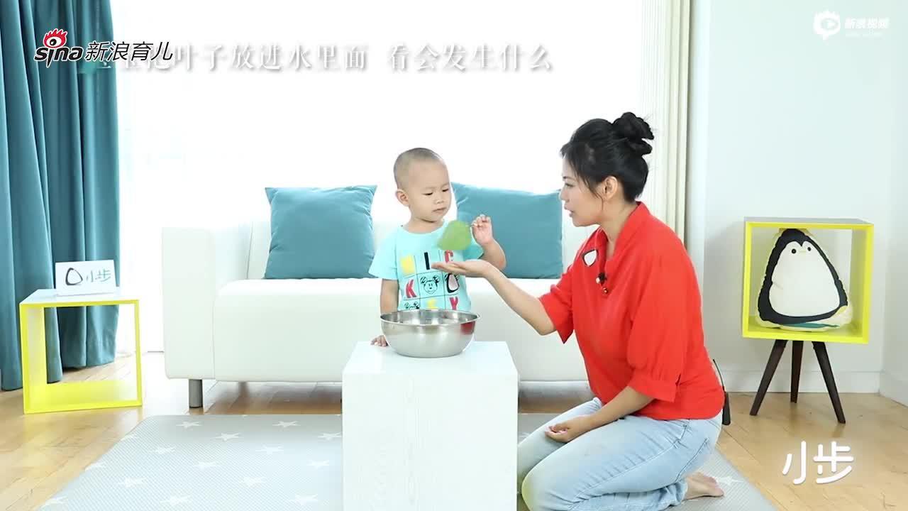 浮力游戏(适龄30-42个月儿童)