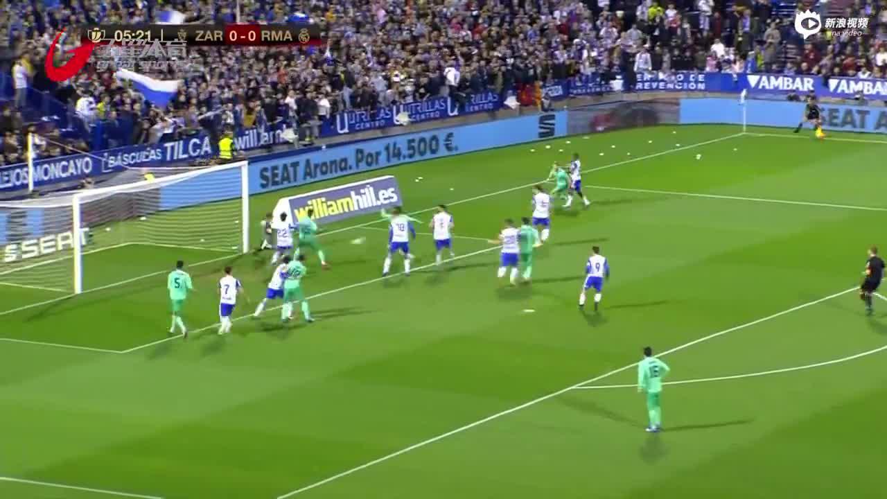 视频-国王杯:皇马轻取萨拉戈萨 各赛事连续20场不败