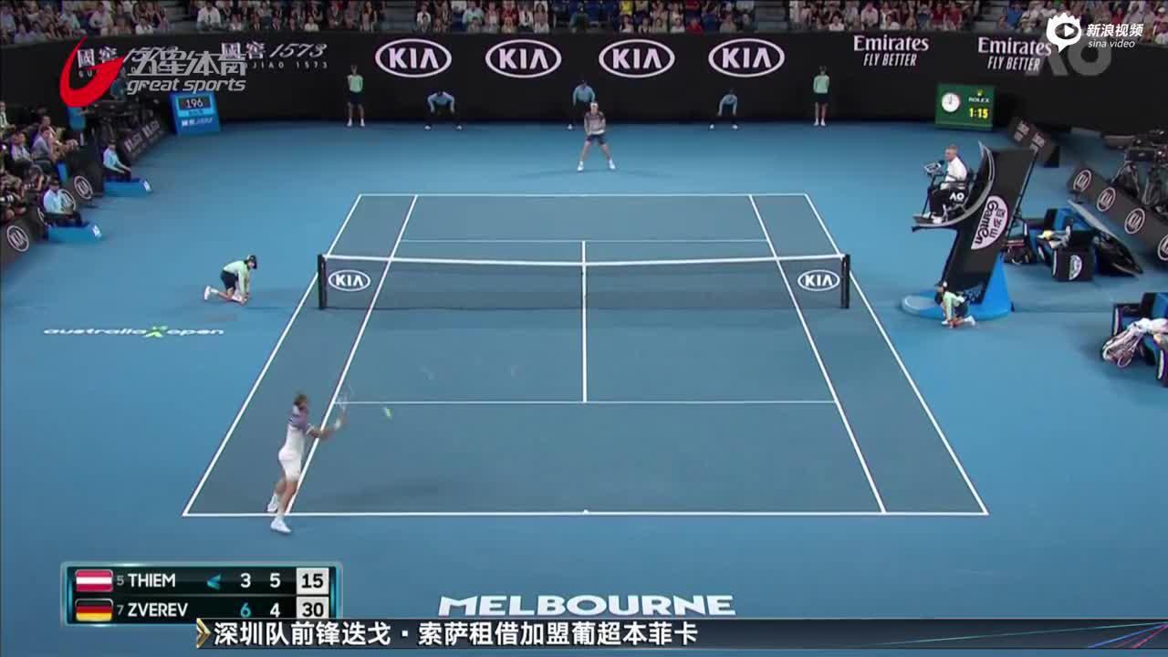 蒂姆首度跻身澳网男单决赛