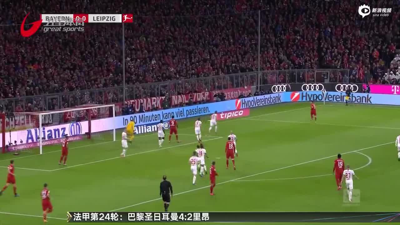 视频-德甲榜首大战:拜仁、莱比锡互交白卷