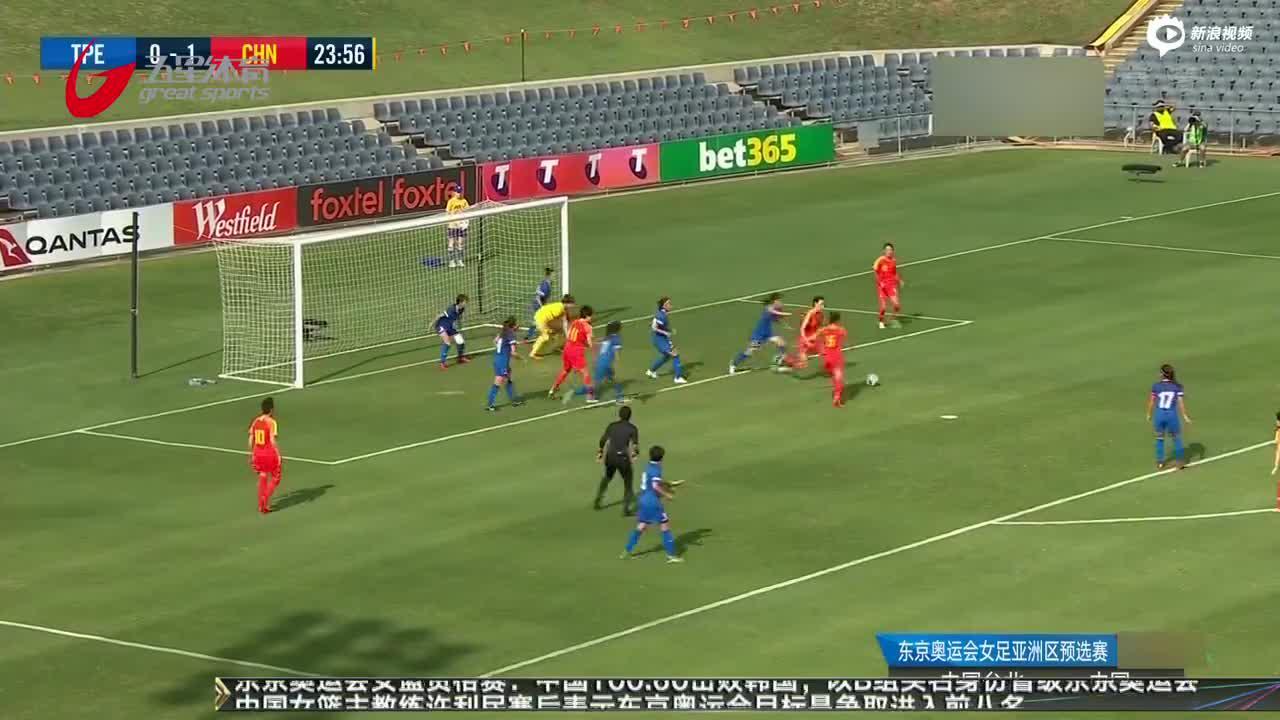 中国女足晋级奥运预选附加赛