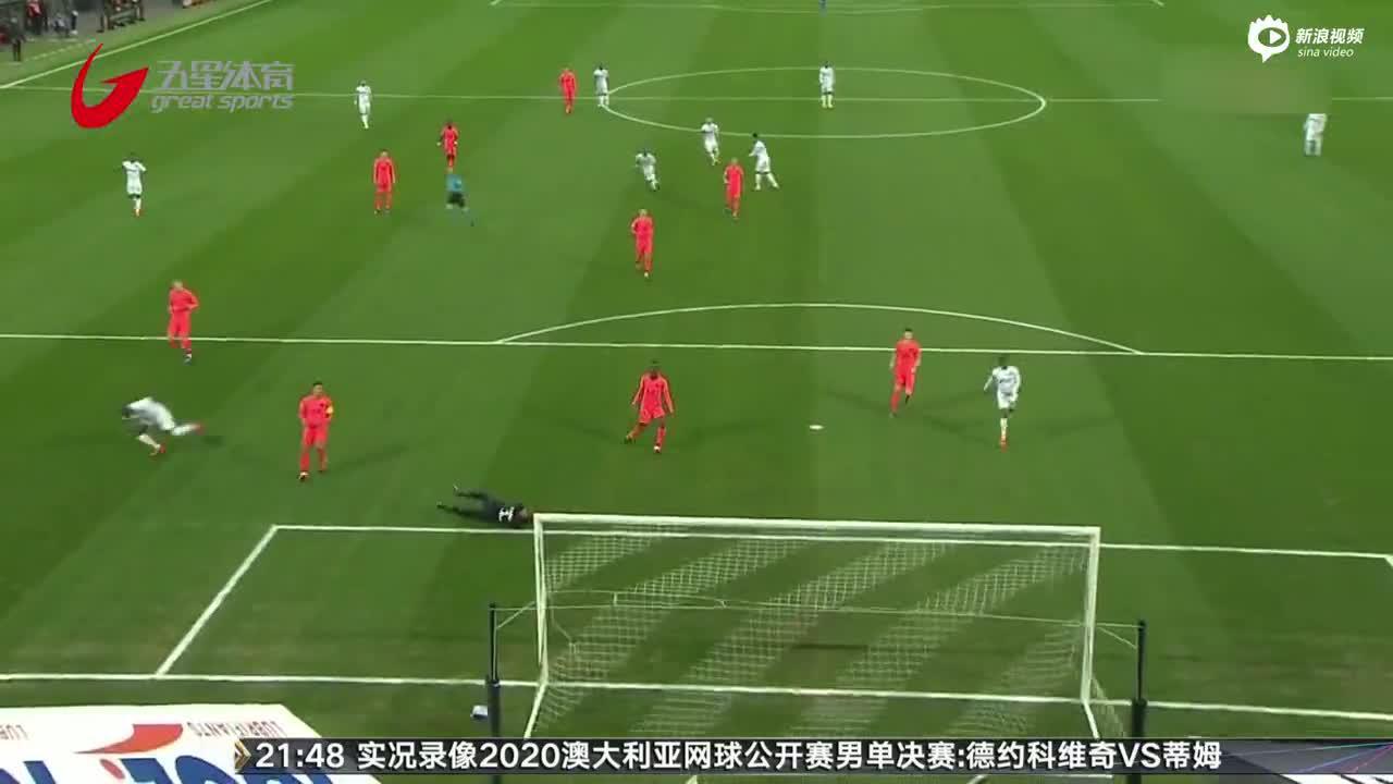 视频-伊卡尔迪破门 巴黎0-3后连进4球后又遭绝平