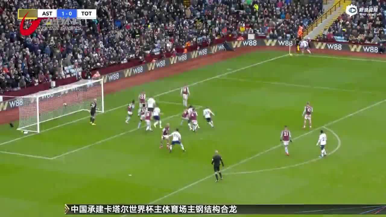 视频-孙兴慜2球+94分钟绝杀 热刺3-2险胜维拉