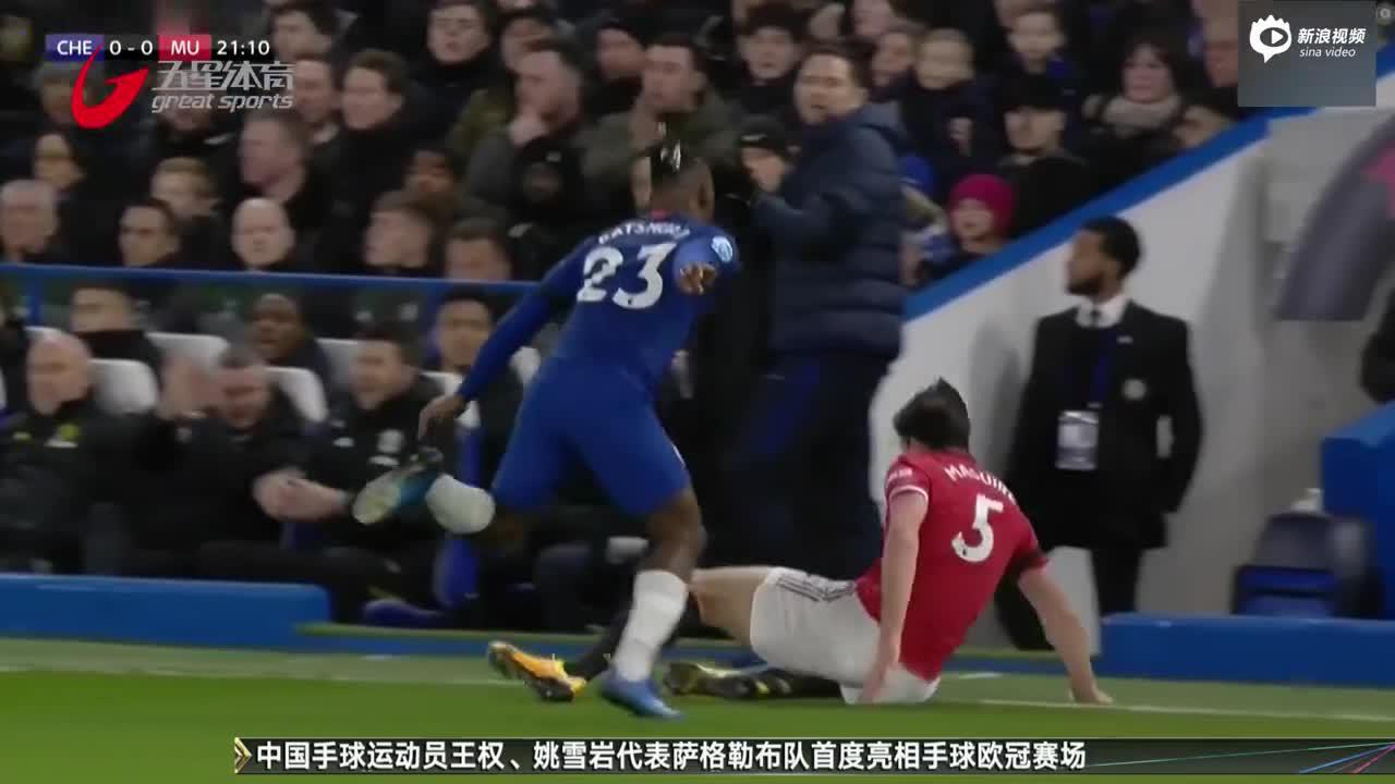 """视频-曼联赛季再胜切尔西 VAR抹杀""""蓝军""""两球"""