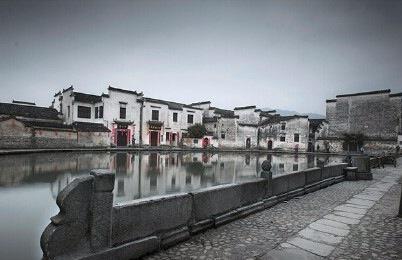 """"""" 画中的村庄…""""丨宏村"""