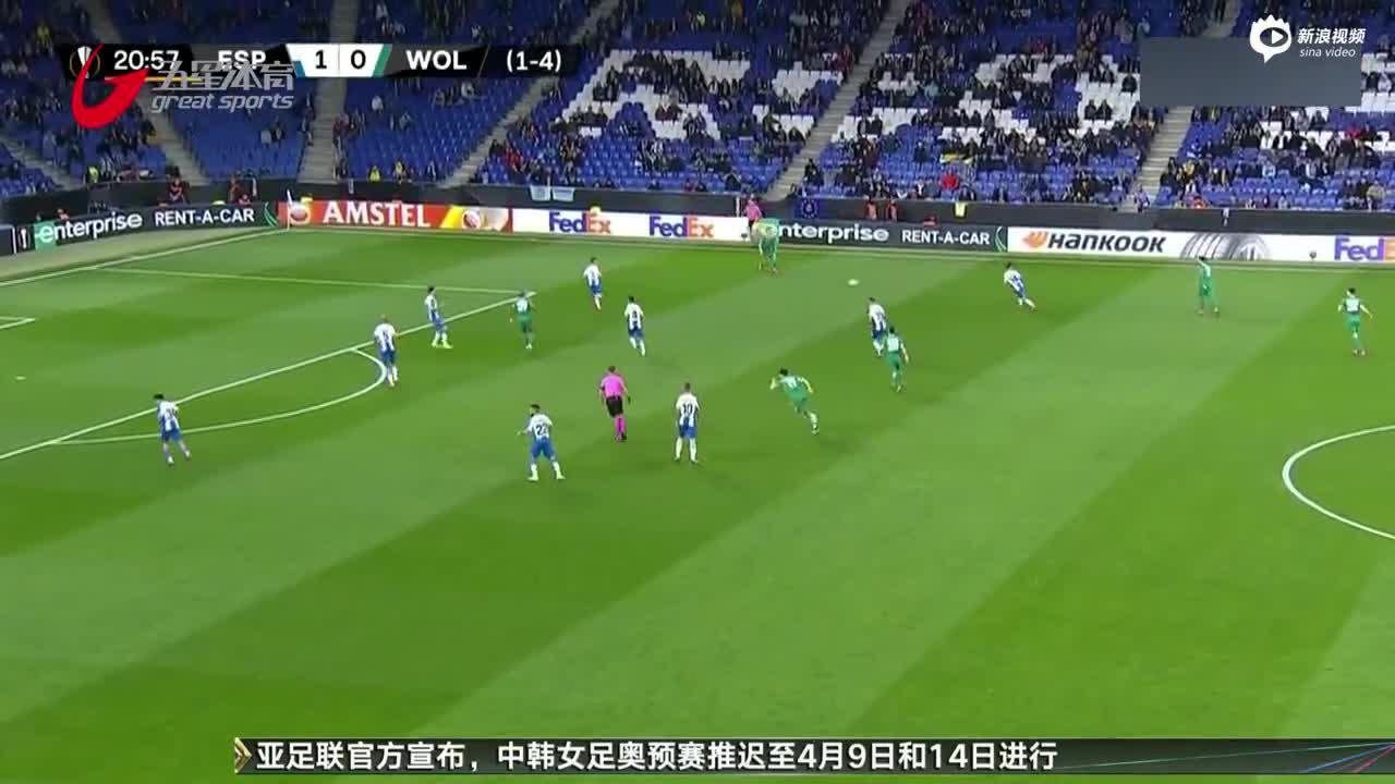 视频-欧联杯战报:武磊替补登场 西班牙人仍出局