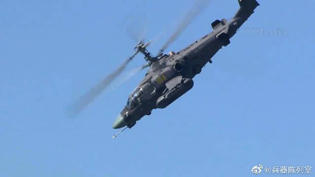 卡52直升机于1980年开始设计,1995投入服役