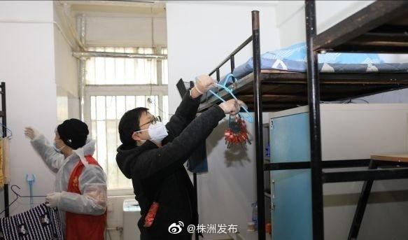 武汉两所民办高校主动提供6000间校舍派上大用场
