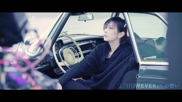 女演员北川景子(33)特别出演的摇滚乐队GLAY出道25周年纪念精选专辑