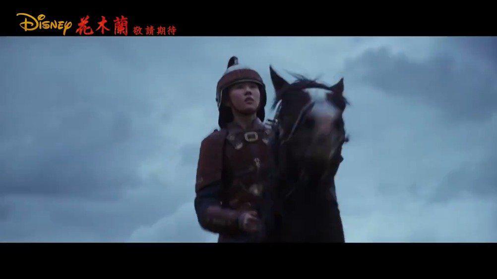 电影《花木兰》公布最新中文预告,影片将于 3月27日 在北美上映。