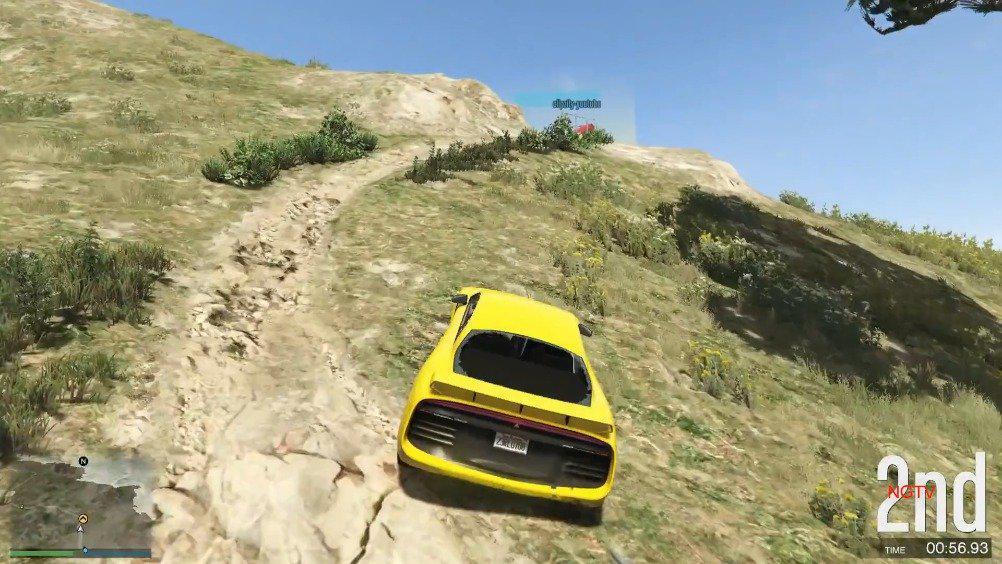 山地盲肠小路越野反重力挑战
